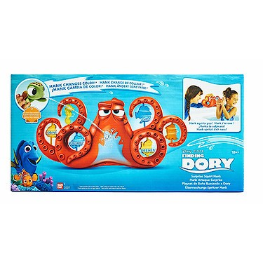 Disney Pixar Finding Dory Surprise Squirt Hank Bath Playset