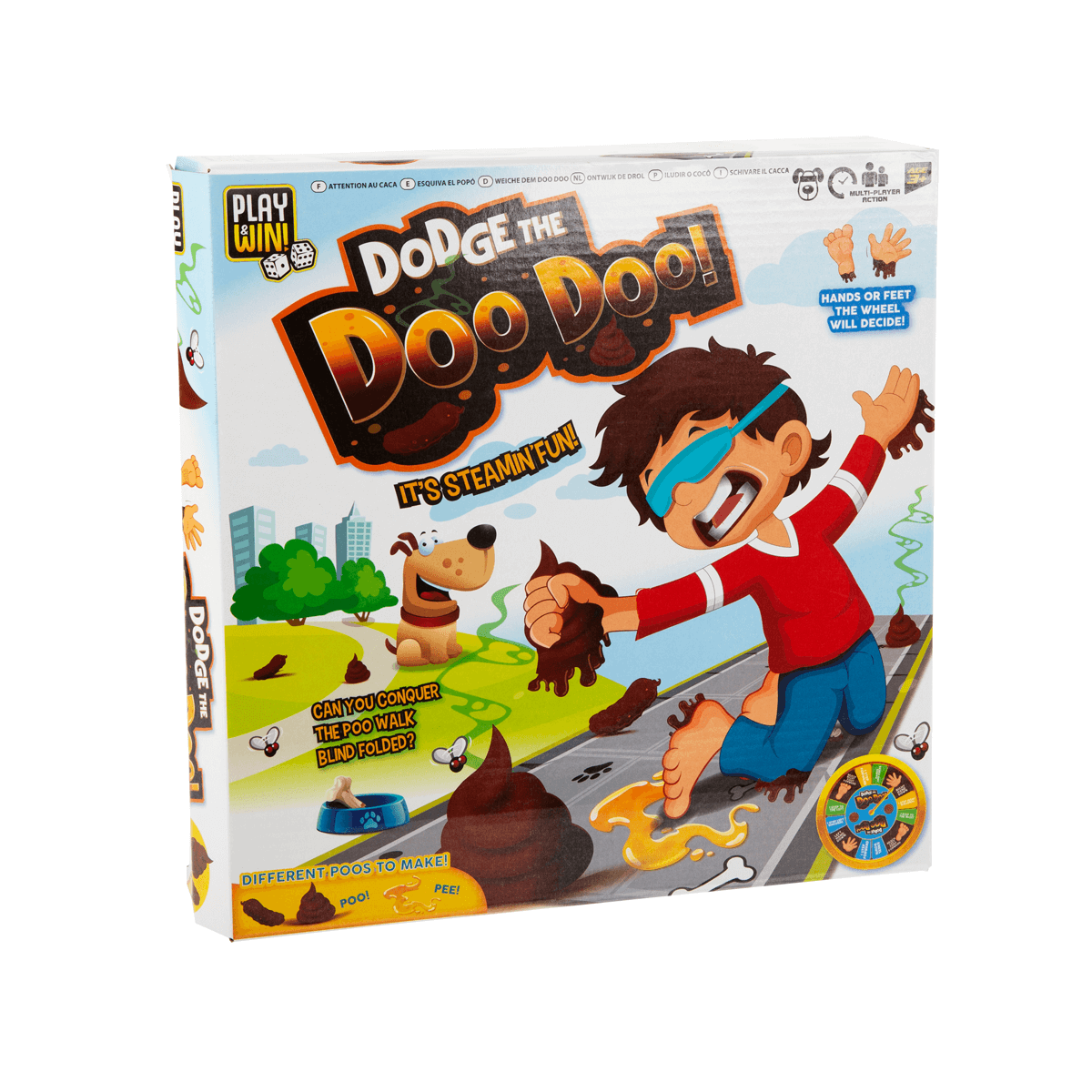 Play & Win Dodge The Doo Doo Game