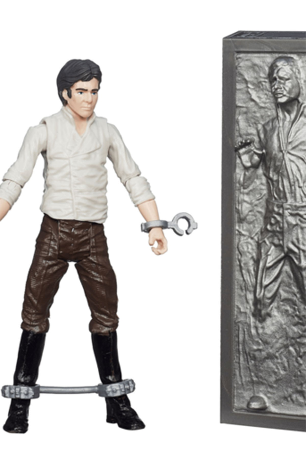 Star Wars Black Series 9.5cm Figure - Han Solo With Carbonite Figure