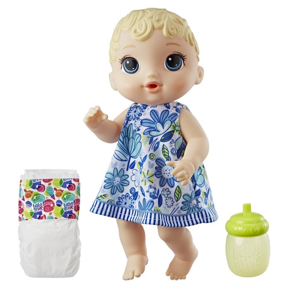 Baby Alive Lil' Sips Baby - Blonde Sculpted Hair