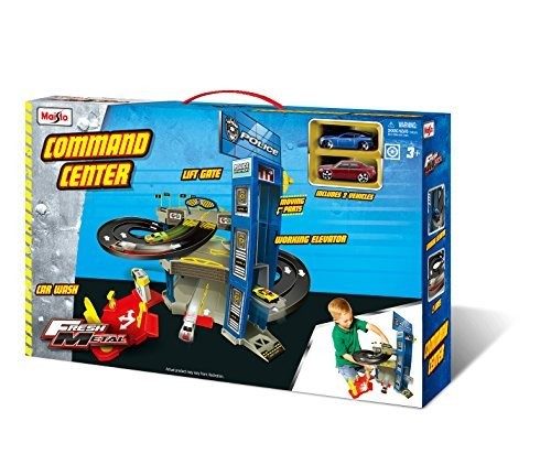 Maisto Fresh Metal Command Center Playset