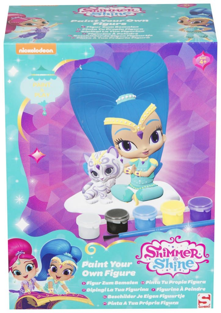 Shimmer and Shine Paint Your Own Figure (Shine)