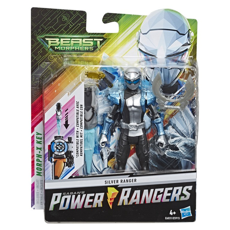 """Power Rangers Basic 6"""" Figures (Characters/Styles Vary)"""