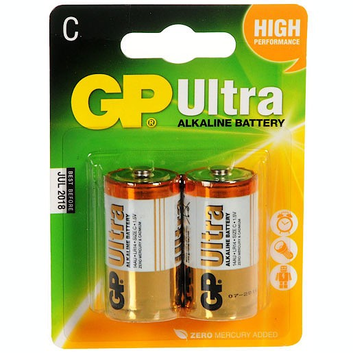 GP Ultra 2 X C Batteries