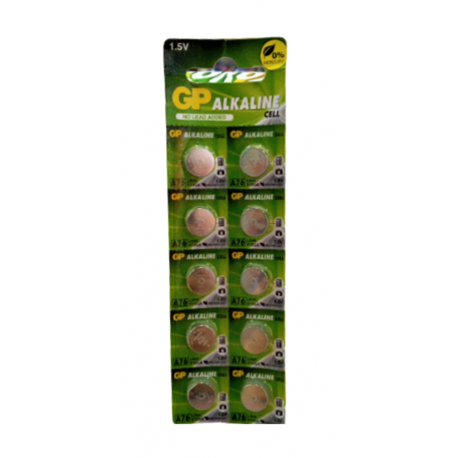 GP Alkaline Cell LR41 1.5V (Single Pack)