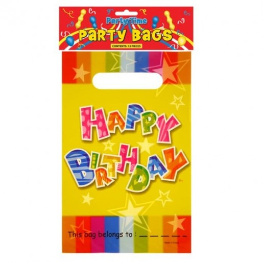 Birthday Party Bags 8-Pack