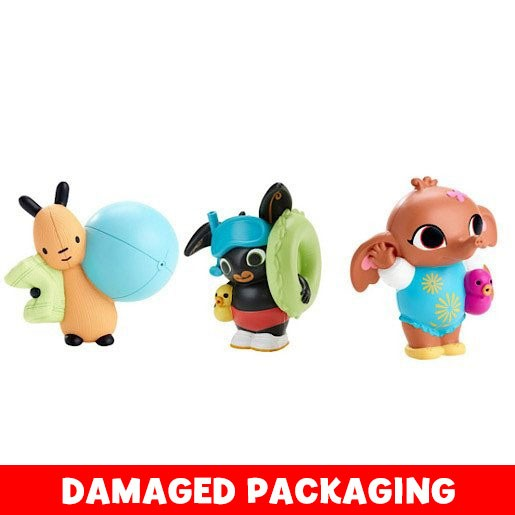 Bing Bunny Bath Squirters 3 Pack (Damaged Packaging)