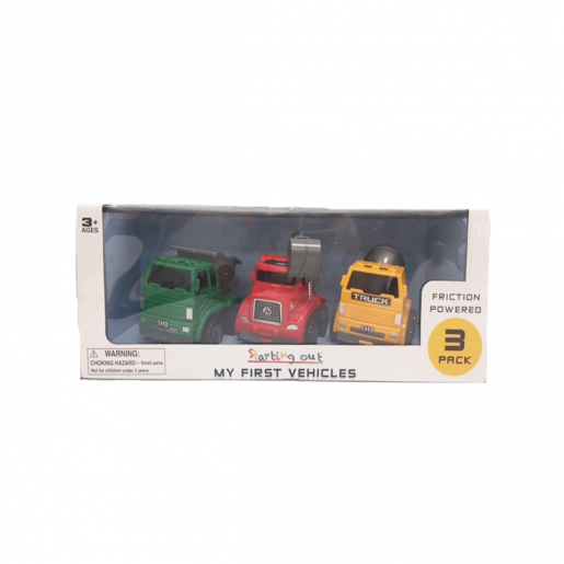 My First Working Vehicles - 3 Pack