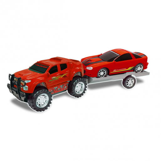 Truck and Trailer (Colors Vary)