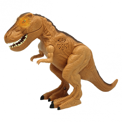 Mighty Megasaur 25cm Interactive Dinosaur - Brown T-Rex
