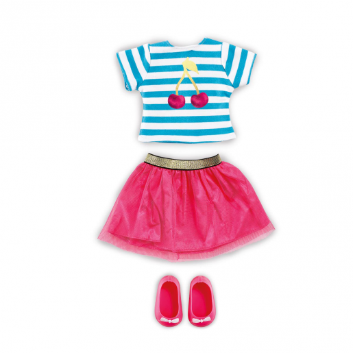 B Friends Cherry Burst Top & Skirt