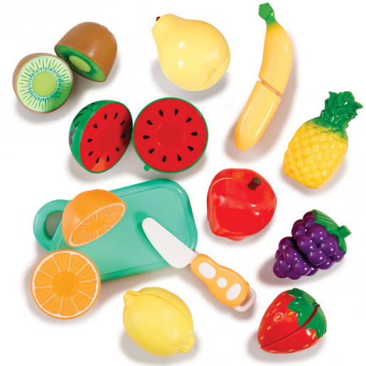 Busy Me Slice and Play Velcro Fruit Set