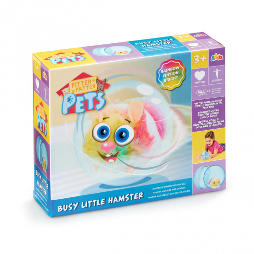 Pitter Patter Pets Busy Little Hamster (Characters Vary)