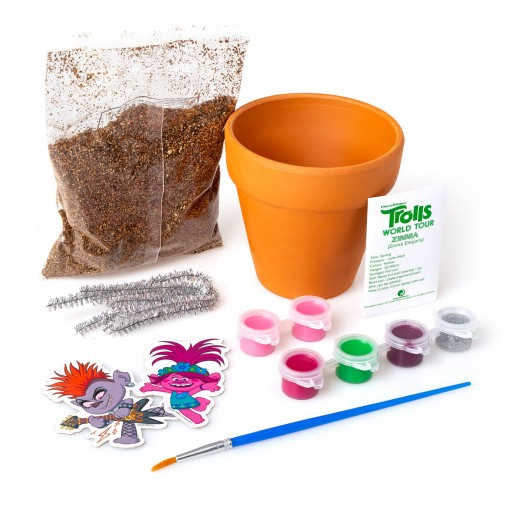 Trolls - Decorate Your Own Garden Pot (Styles Vary)