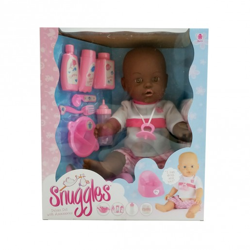 Baby Snuggles Drink and Wet Doll