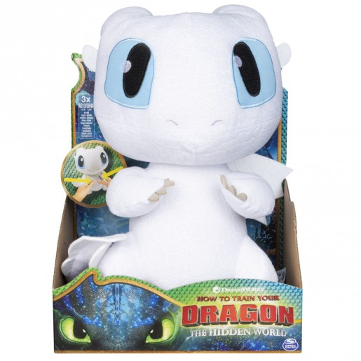 DreamWorks Dragons - Squeeze & Growl 25cm Plush (Styles Vary)