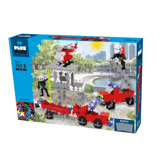 Plus-Plus - Fire and Rescue Kit