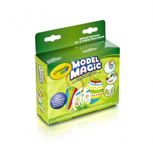 Crayola Magic Modeling Clay Spring Decorations