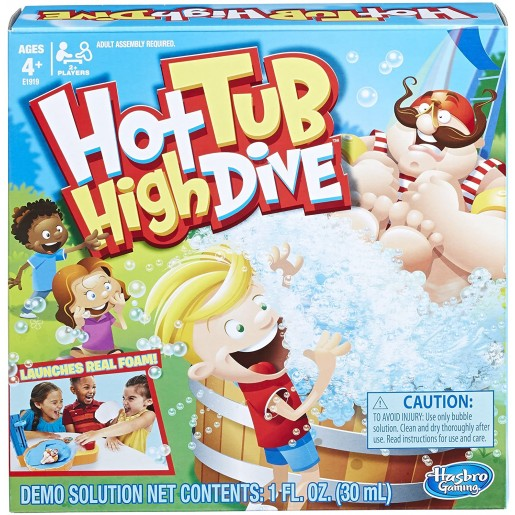Hasbro - Bubble board game for boys and girls ages 4 and up