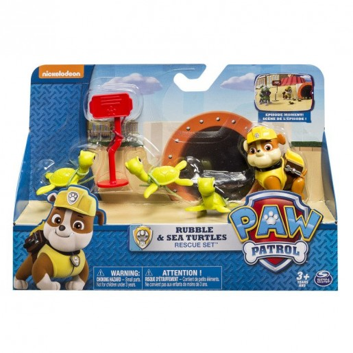 Paw Patrol Rescue Action Pack With Pups
