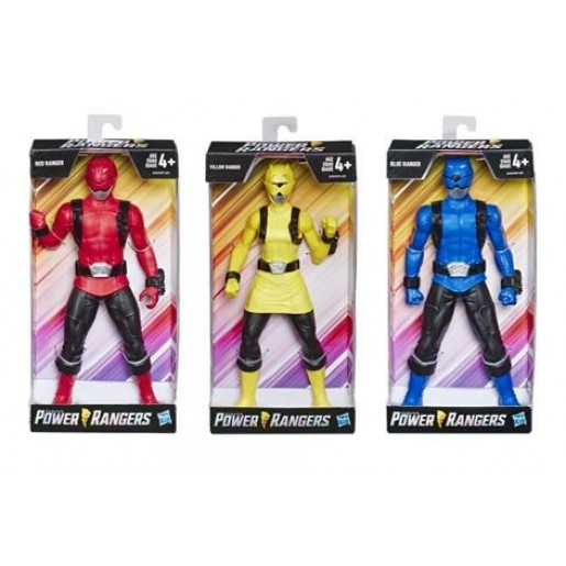 Power Rangers Mighty Morphin Blue Ranger Figure 9.5-inch Scale Action Figure