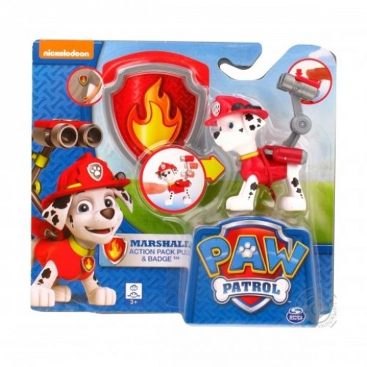 Spin Master 6022626 _ Marshall - Pat Patrol Action Figure - Marcus