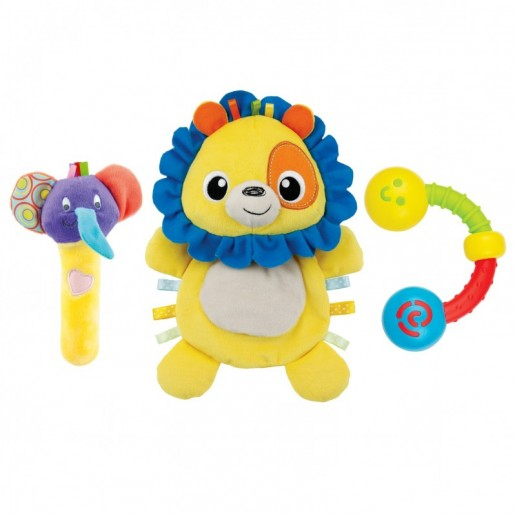 Winfun - Lion Comforter Rattle Set