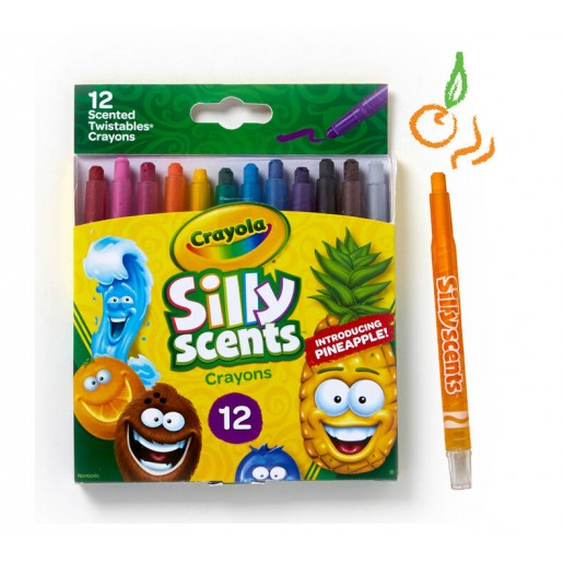 Cratola - Silly Scents Mini Twistables Crayons