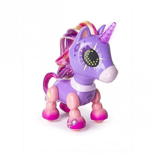 Zoomer - Zupps Tiny Unicorns Electronic Toy (Styles & Colors Vary)