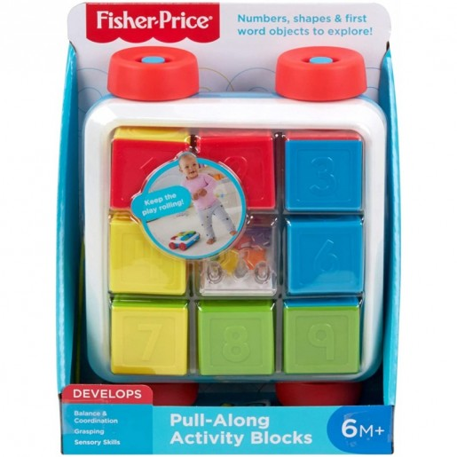 Fisher-Price - Pull-Along Activity Blocks