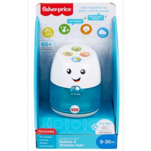 Fisher-Price - Babble & Wobble Hub