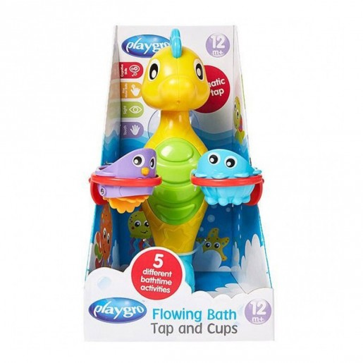Playgro Flowing Bath Tap & Cups