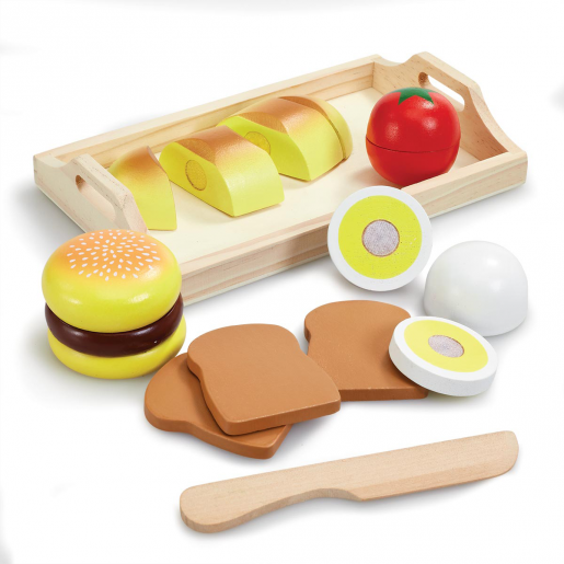 Woodlets Slicing Playset Sandwich