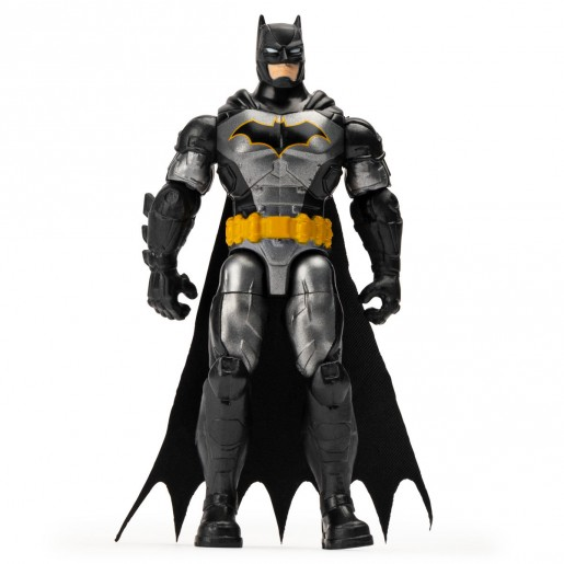 DC Comics The Caped Crusader 10cm Figure with 3 Mystery Accessories - Batman