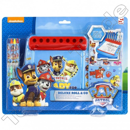 6 X Paw Patrol Deluxe Roll and Go